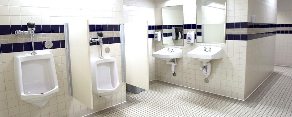 Commercial Bathroom Installation in Iowa