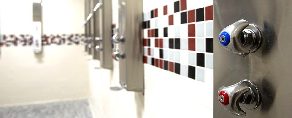 Commercial Shower Installation Iowa