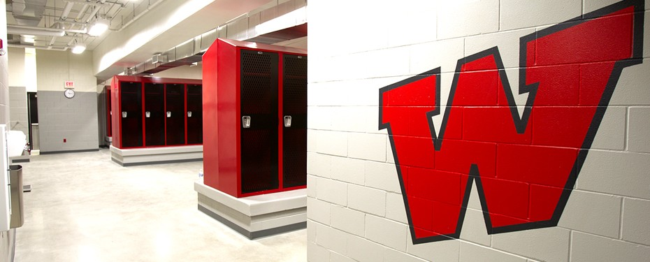 School Locker Room Addition